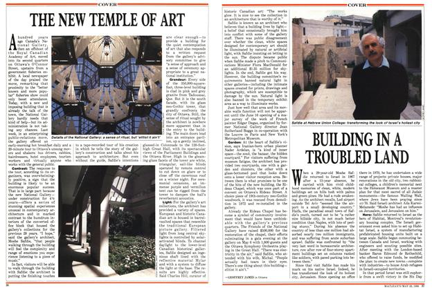 Article Preview: THE NEW TEMPLE OF ART, May 1988 | Maclean's