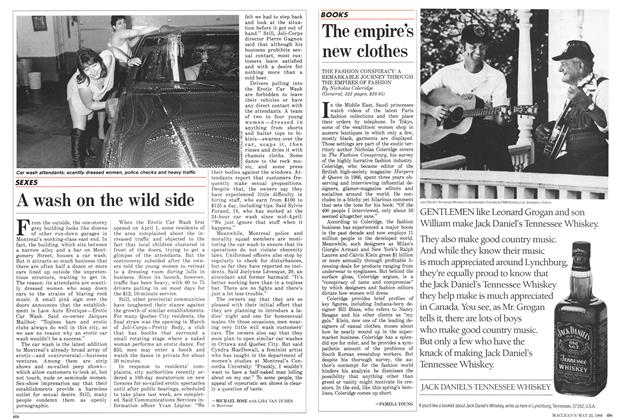 Article Preview: A wash on the wild side, May 1988 | Maclean's