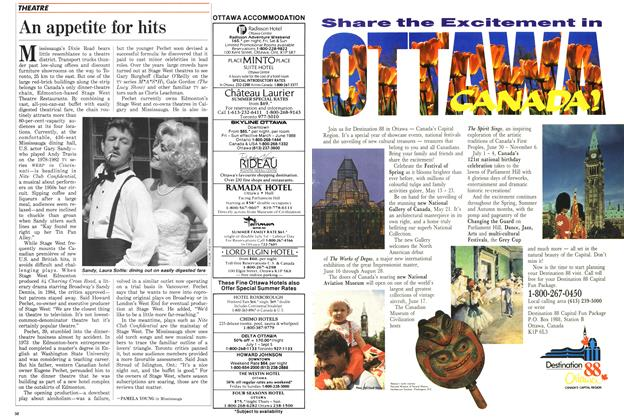 Article Preview: An appetite for hits, May 1988 | Maclean's