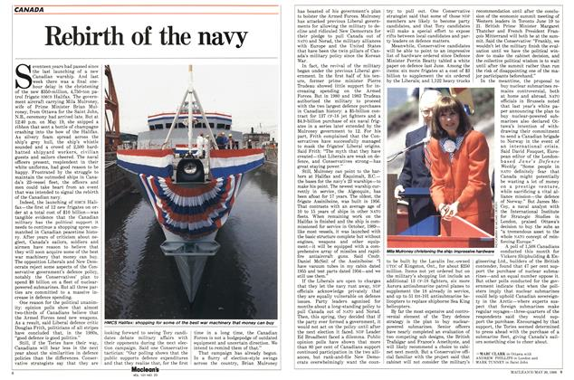 Article Preview: Rebirth of the navy, May 1988 | Maclean's