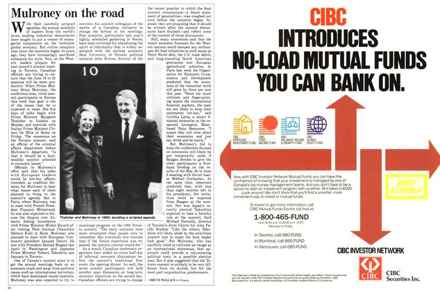 Article Preview: Mulroney on the road, May 1988 | Maclean's