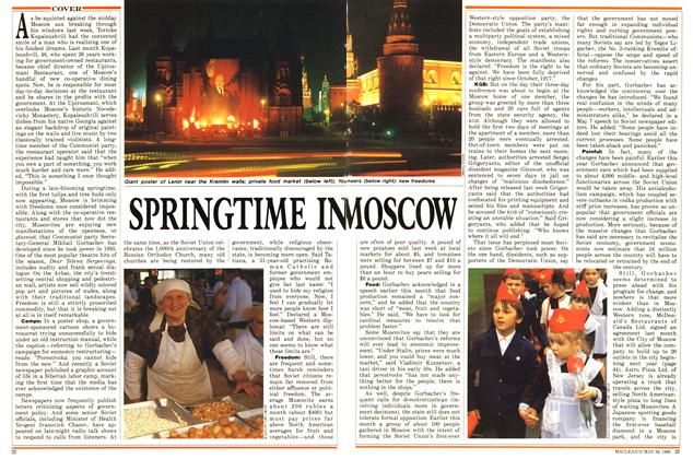 Article Preview: SPRINGTIME IN MOSCOW, May 1988 | Maclean's