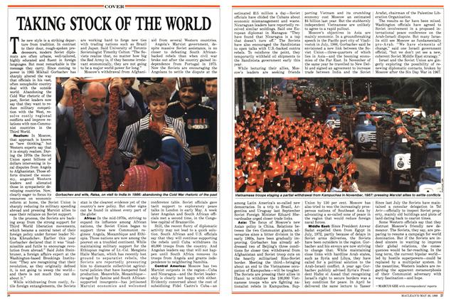 Article Preview: TAKING STOCK OF THE WORLD, May 1988 | Maclean's