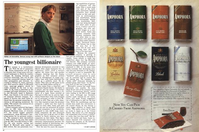 Article Preview: The youngest billionaire, May 1988 | Maclean's
