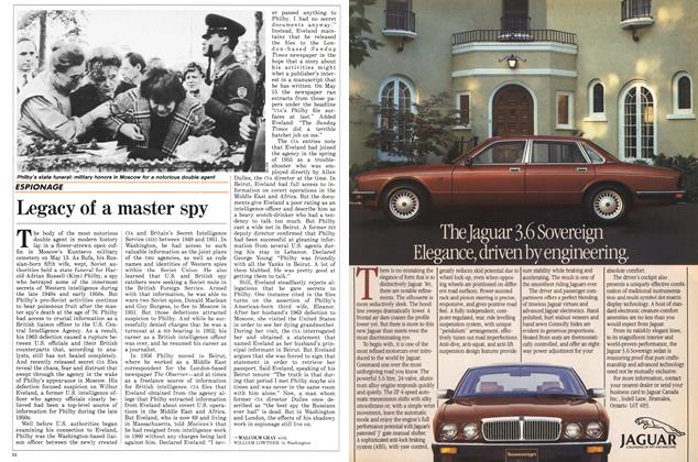 Article Preview: Legacy of a master spy, May 1988 | Maclean's