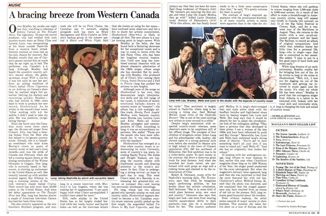 Article Preview: A bracing breeze from Western Canada, May 1988 | Maclean's