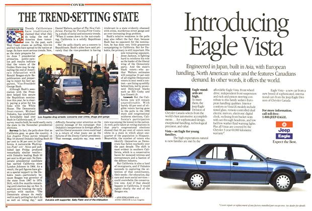 Article Preview: THE TREND-SETTING STATE, June 1988 | Maclean's
