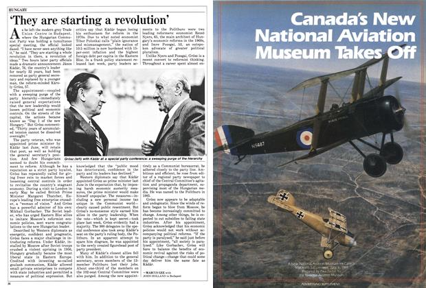 Article Preview: 'They are starting a revolution', June 1988 | Maclean's