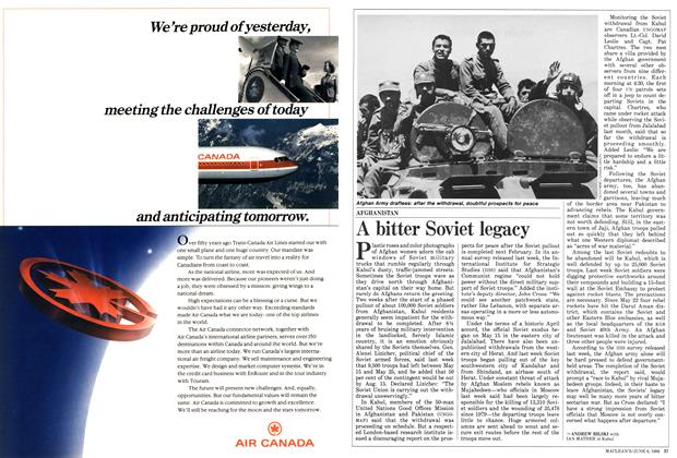 Article Preview: A bitter Soviet legacy, June 1988   Maclean's