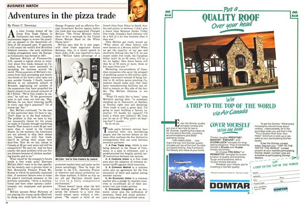 Article Preview: Adventures in the pizza trade, June 1988 | Maclean's