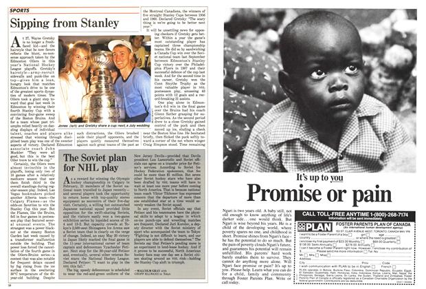 Article Preview: Sipping from Stanley, June 1988 | Maclean's