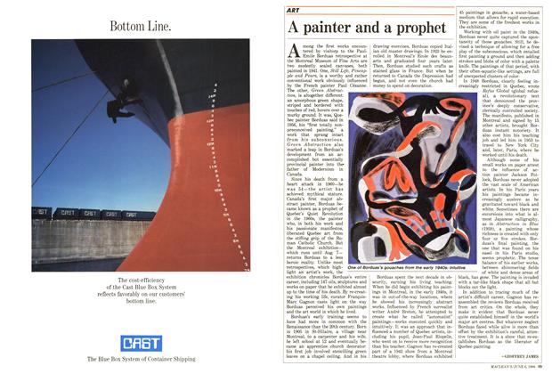 Article Preview: A painter and a prophet, June 1988 | Maclean's