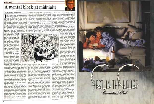 Article Preview: A mental block at midnight, June 1988 | Maclean's