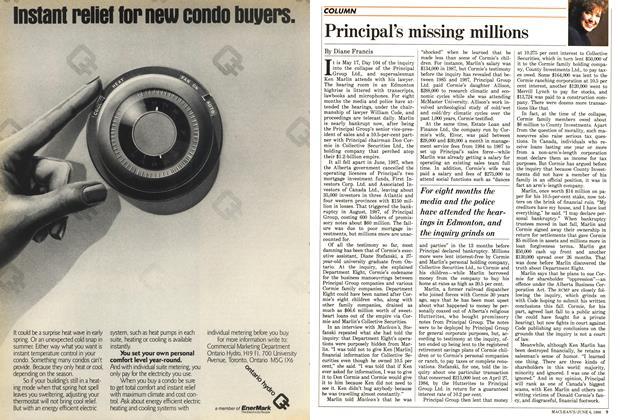 Article Preview: Principal's missing millions, June 1988 | Maclean's