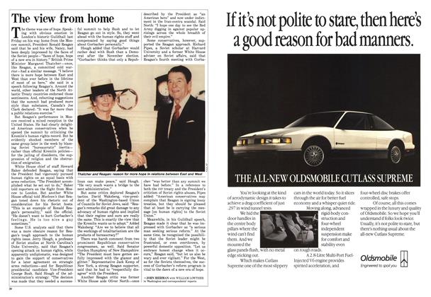 Article Preview: The view from home, June 1988 | Maclean's