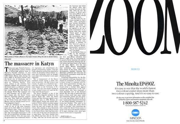 Article Preview: The massacre in Katyn, June 1988 | Maclean's