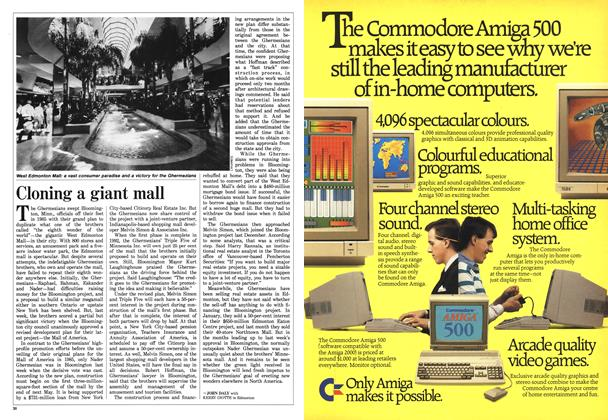 Article Preview: Cloning a giant mall, June 1988 | Maclean's