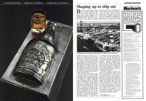 Article Preview: Shaping up to ship out, June 1988 | Maclean's