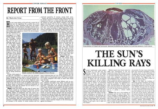 Article Preview: THE SUN'S KILLING RAYS, June 1988 | Maclean's