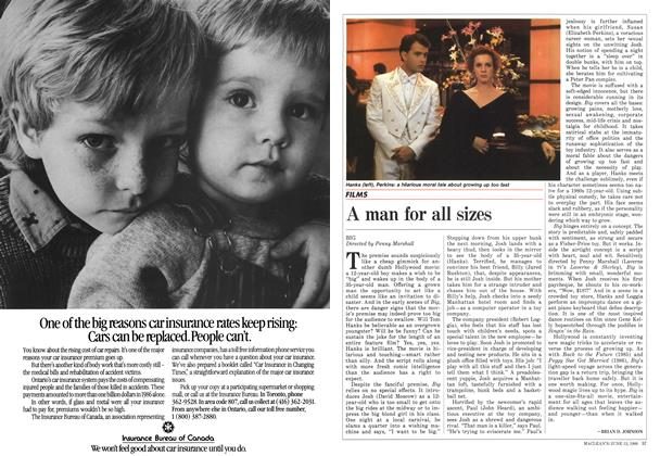 Article Preview: A man for all sizes, June 1988 | Maclean's