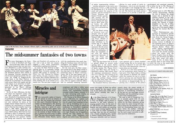 Article Preview: The midsummer fantasies of two towns, June 1988 | Maclean's
