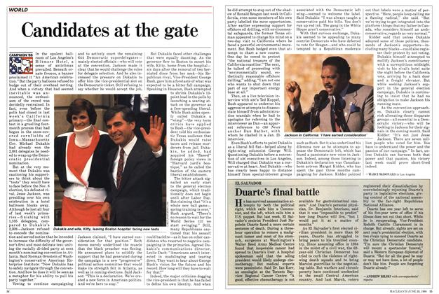Article Preview: Candidates at the gate, June 1988 | Maclean's