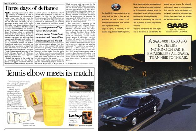 Article Preview: Three days of defiance, June 1988 | Maclean's