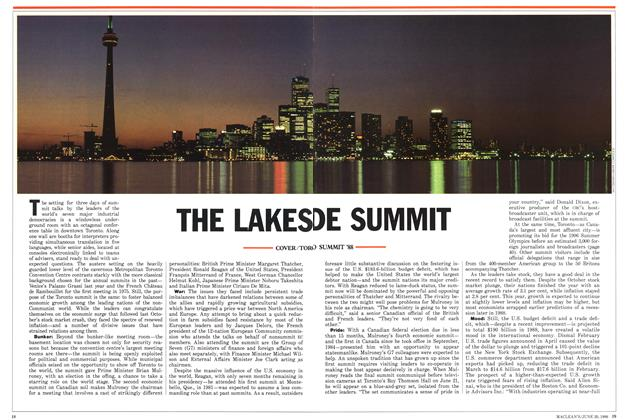 Article Preview: THE LAKESIDE SUMMIT, June 1988 | Maclean's