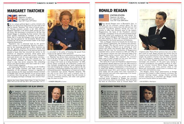 Article Preview: MARGARET THATCHER, June 1988 | Maclean's