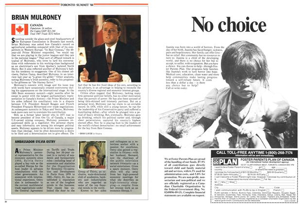 Article Preview: BRIAN MULRONEY, June 1988 | Maclean's