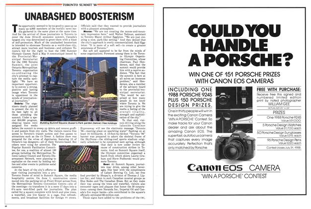 Article Preview: UNABASHED BOOSTERISM, June 1988 | Maclean's