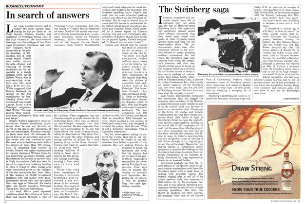 Article Preview: The Steinberg saga, June 1988 | Maclean's
