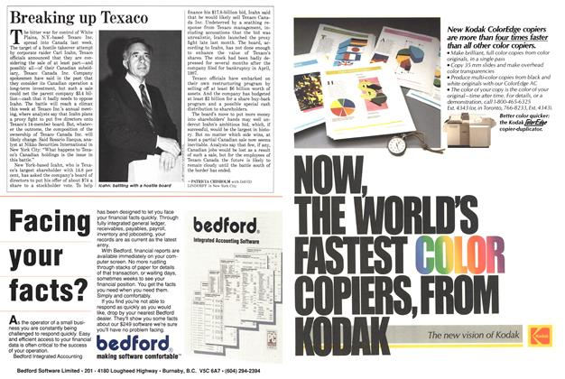 Article Preview: Breaking up Texaco, June 1988 | Maclean's