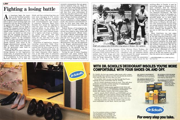 Article Preview: Fighting a losing battle, June 1988 | Maclean's