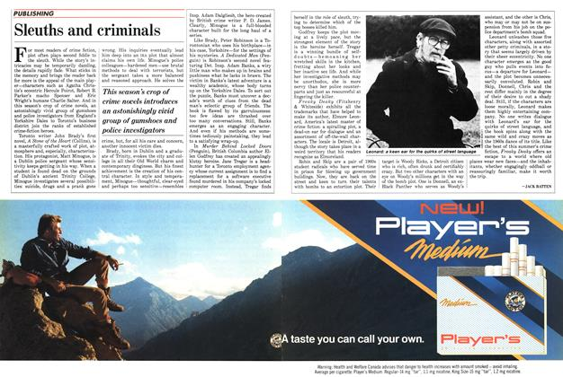 Article Preview: Sleuths and criminals, June 1988 | Maclean's