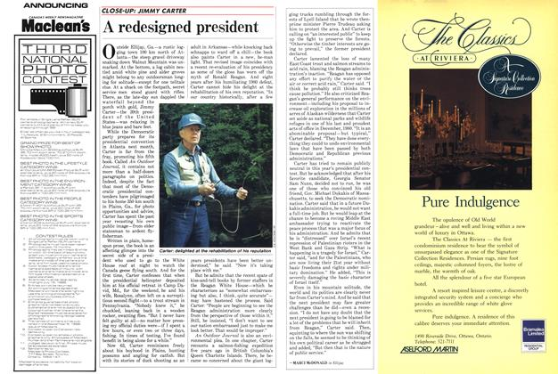 Article Preview: A redesigned president, June 1988 | Maclean's