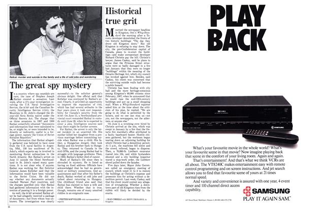Article Preview: The great spy mystery, June 1988 | Maclean's