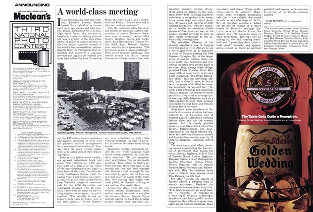 Article Preview: A world-class meeting, June 1988 | Maclean's