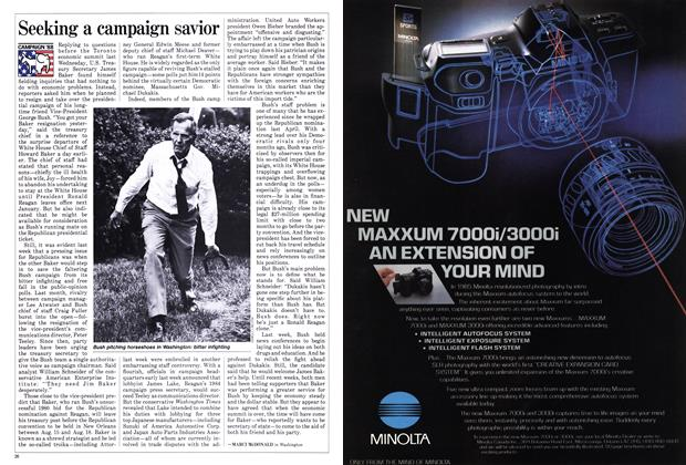 Article Preview: Seeking a campaign savior, June 1988 | Maclean's