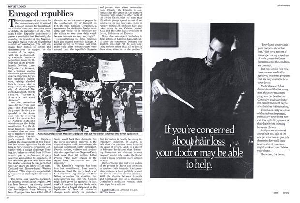 Article Preview: Enraged republics, June 1988 | Maclean's