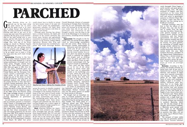 Article Preview: PARCHED, June 1988   Maclean's