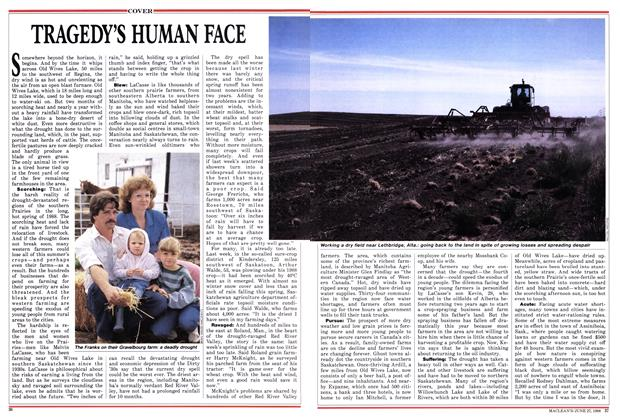 Article Preview: TRAGEDY'S HUMAN FACE, June 1988 | Maclean's