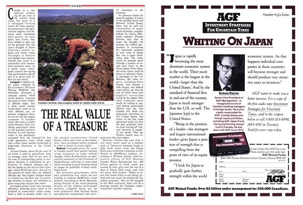 Article Preview: THE REAL VALUE OF A TREASURE, June 1988 | Maclean's