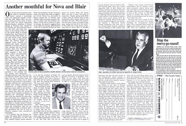 Article Preview: Another mouthful for Nova and Blair, June 1988 | Maclean's
