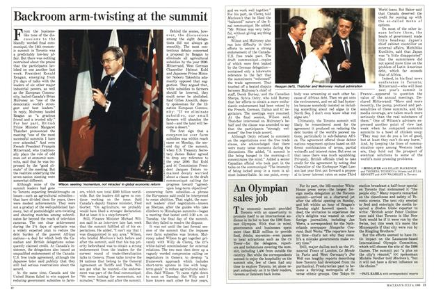 Article Preview: An Olympian sales job, July 1988 | Maclean's