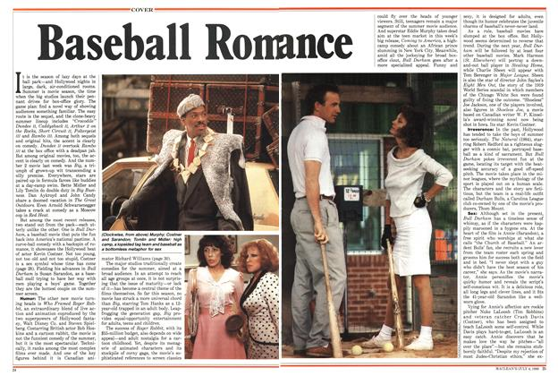 Article Preview: Baseball Romance, July 1988 | Maclean's