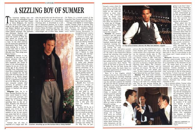 Article Preview: A SIZZLING BOY OF SUMMER, July 1988 | Maclean's