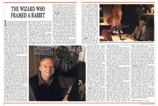 Article Preview: THE WIZARD WHO FRAMED A RABBIT, July 1988 | Maclean's