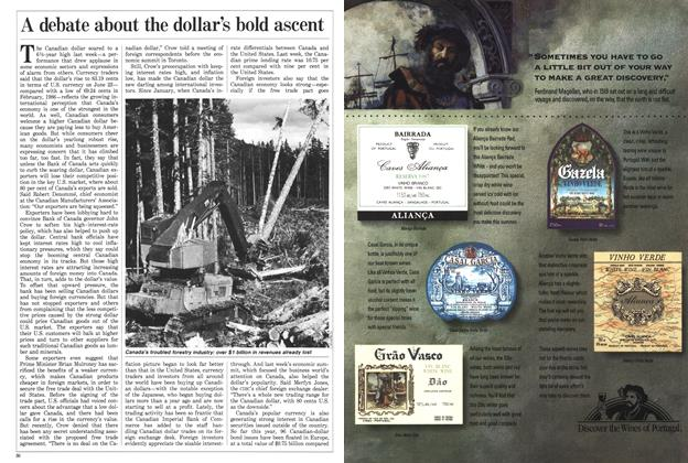 Article Preview: A debate about the dollar's bold ascent, July 1988 | Maclean's