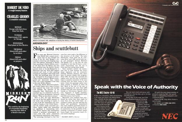 Article Preview: Ships and scuttlebutt, July 1988 | Maclean's